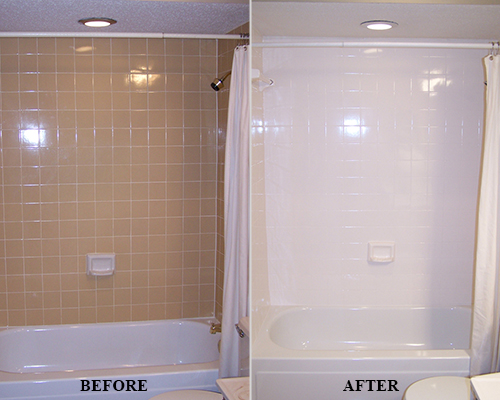 Expertly Refinished Bathtub
