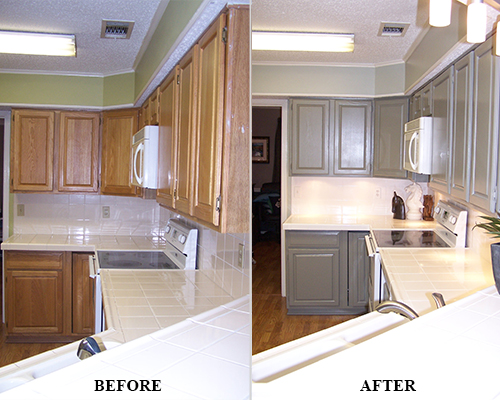 Kitchen Surface Refinishing