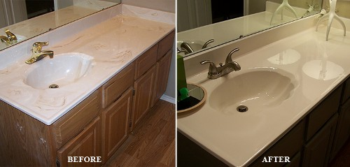 Before and After Sink Remodel